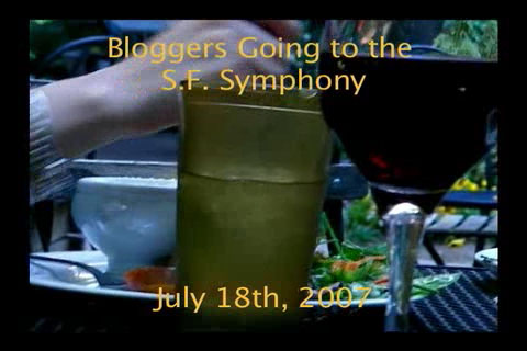 Bloggers Going to the S.F. Symphony