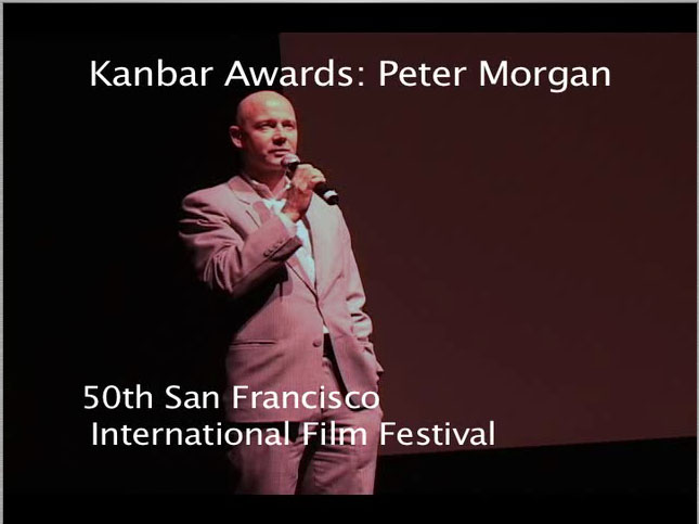 Peter Morgan at the 50th SFIFF